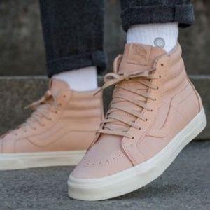 Vans Shoes - Vans SK8-Hi Reissue Zip Veggie Tan Leather.